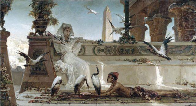 Cleopatra por Wilhelm Kotarbinski