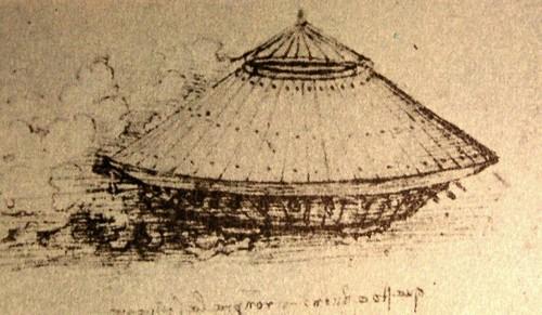 Tanque de Leonardo da Vinci - Aspecto externo