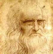 Biografía de Leonardo da Vinci - Autorretrato
