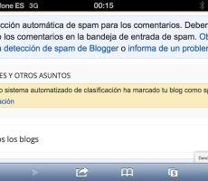 Mi blog es .....¡¡¡ spam !!!