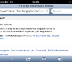 Mi blog en el limbo