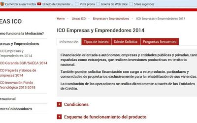 prestamos ICO para empresas