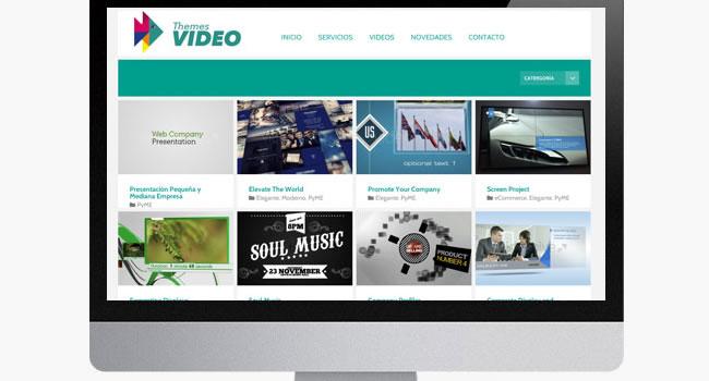 diseño web videos