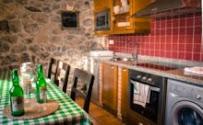Comedor de la casa rural