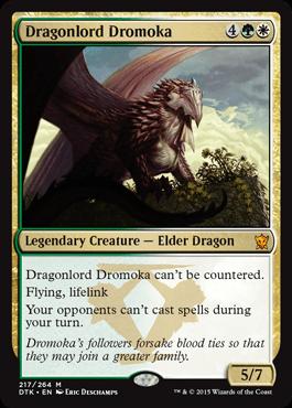 DROMOKA SEÑORA DRAGON / DRAGONLORD DROMOKA (DRAGONES DE TARKIR)