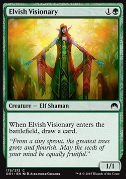 VISIONARIA ELFICA / ELVISH VISIONARY (MAGIC ORIGENES)