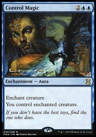 MAGIA DE CONTROL / CONTROL MAGIC (ETERNAL MASTERS)