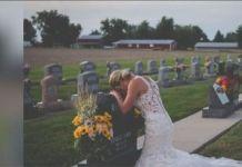 La Triste historia de la novia que llora en una tumba