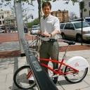 Bike sharing in Washington DC.