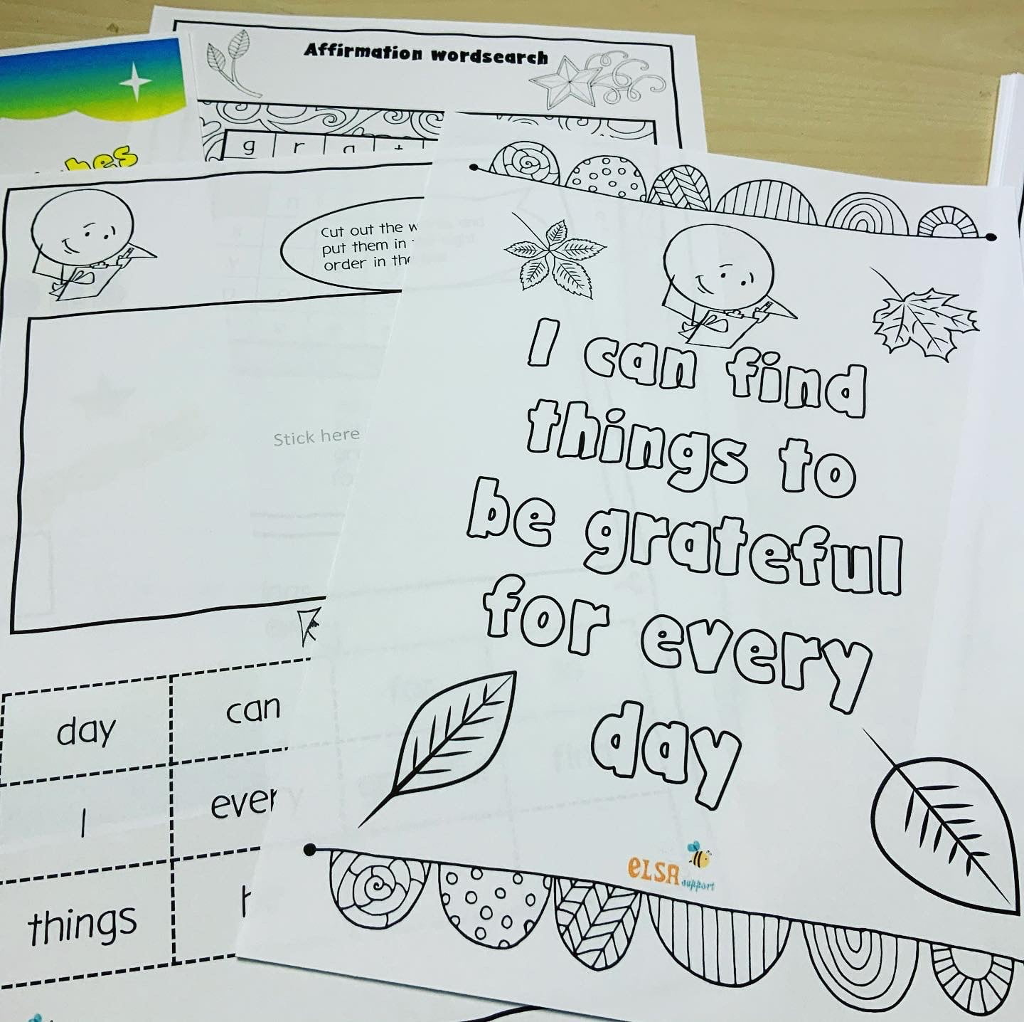 Affirmations Activity Pack