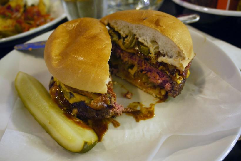 B-Rex burger