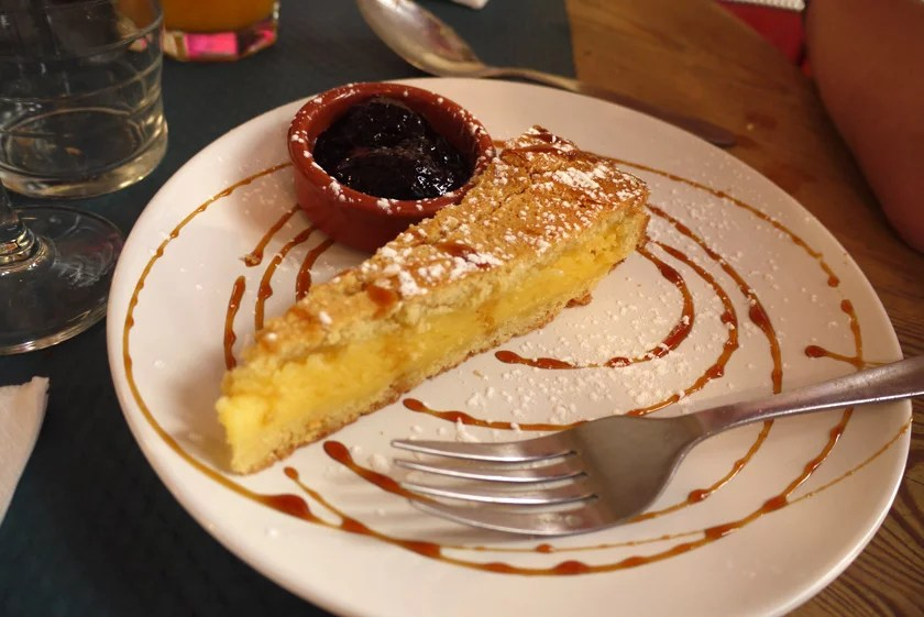 Basque Brunch Dessert - Gâteau Basque