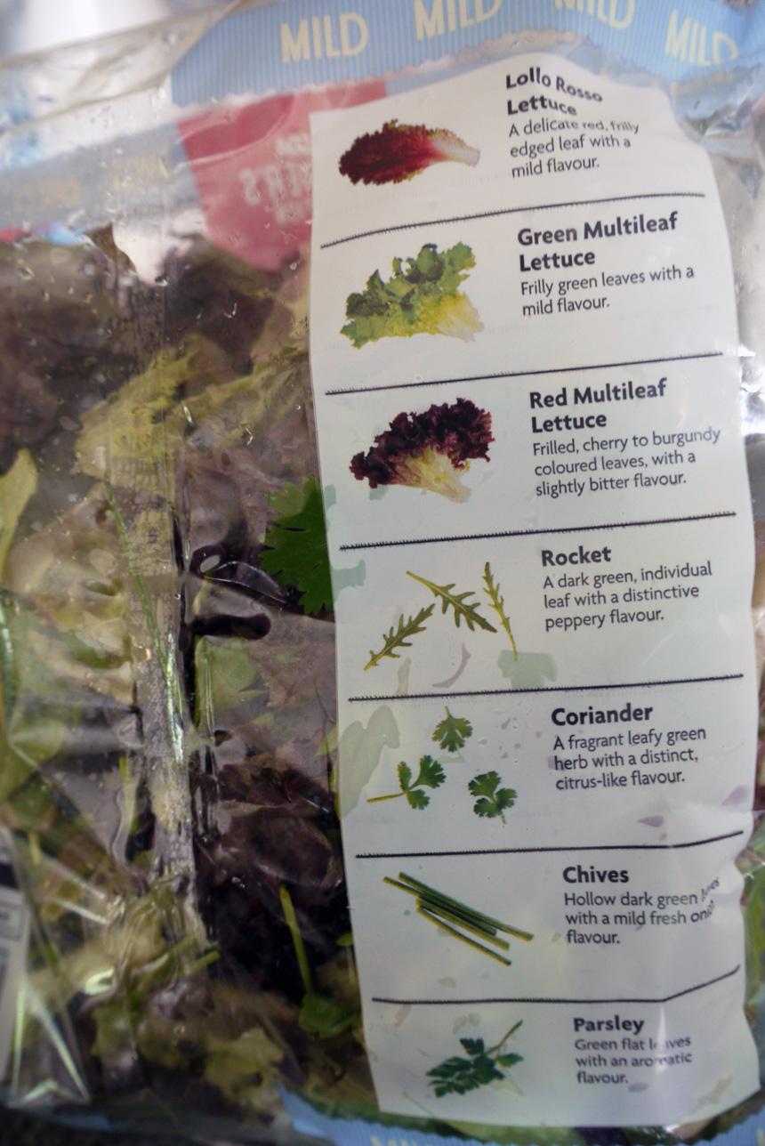 Asda Herb Garden Salad