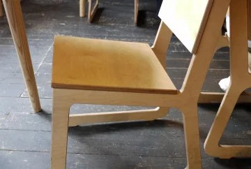 Really comfortable wooden chair