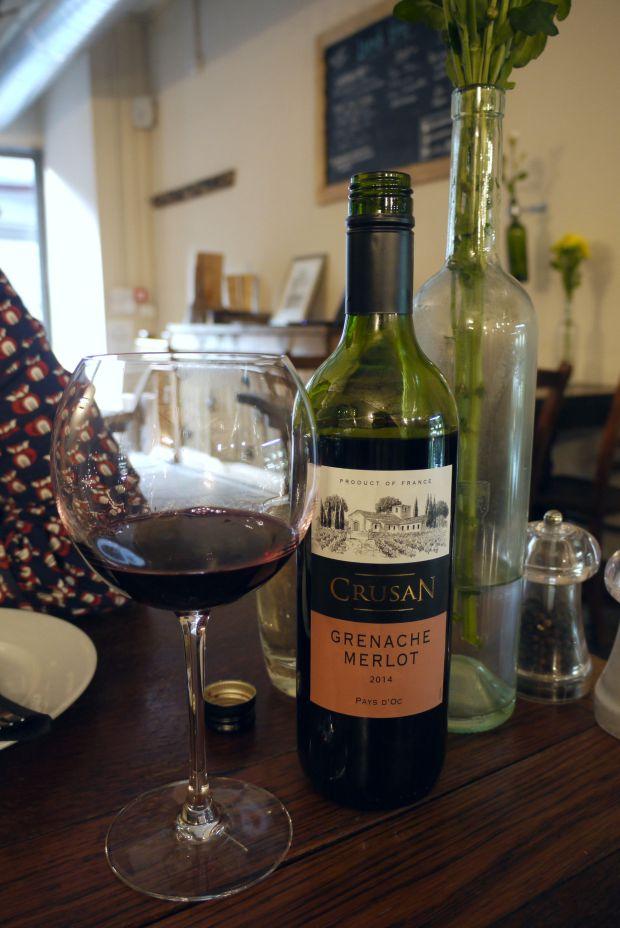 Wood Deli wine