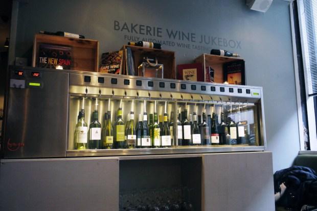 Bakerie Wine Juke Box