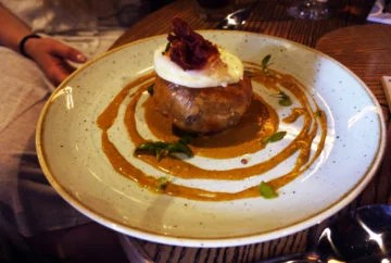 Beef and Pudding Brunch Pud