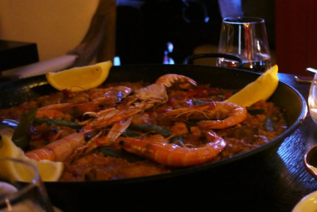 Paella Mixta (Chicken & Seafood)