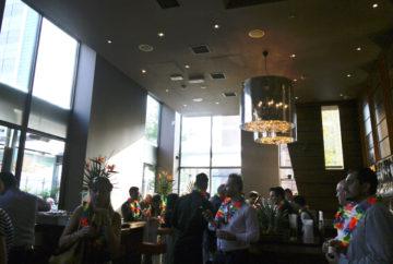 The bar area at Zouk