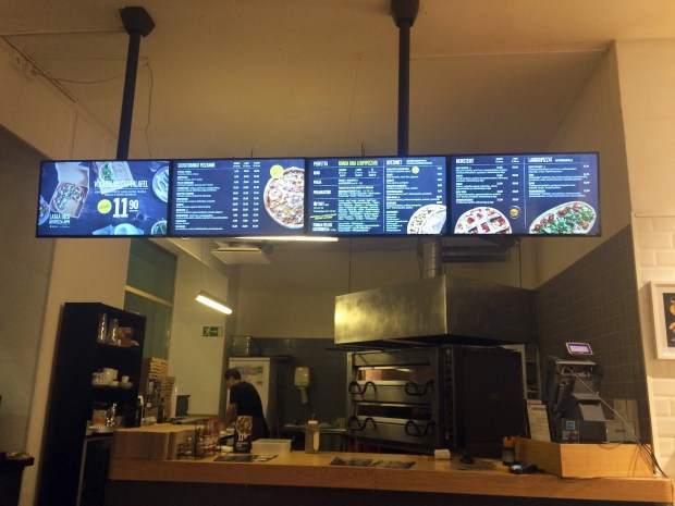 Kotipizza counter