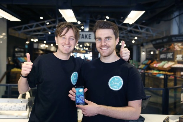 Jamie and Chris, founders of Too Good To Go