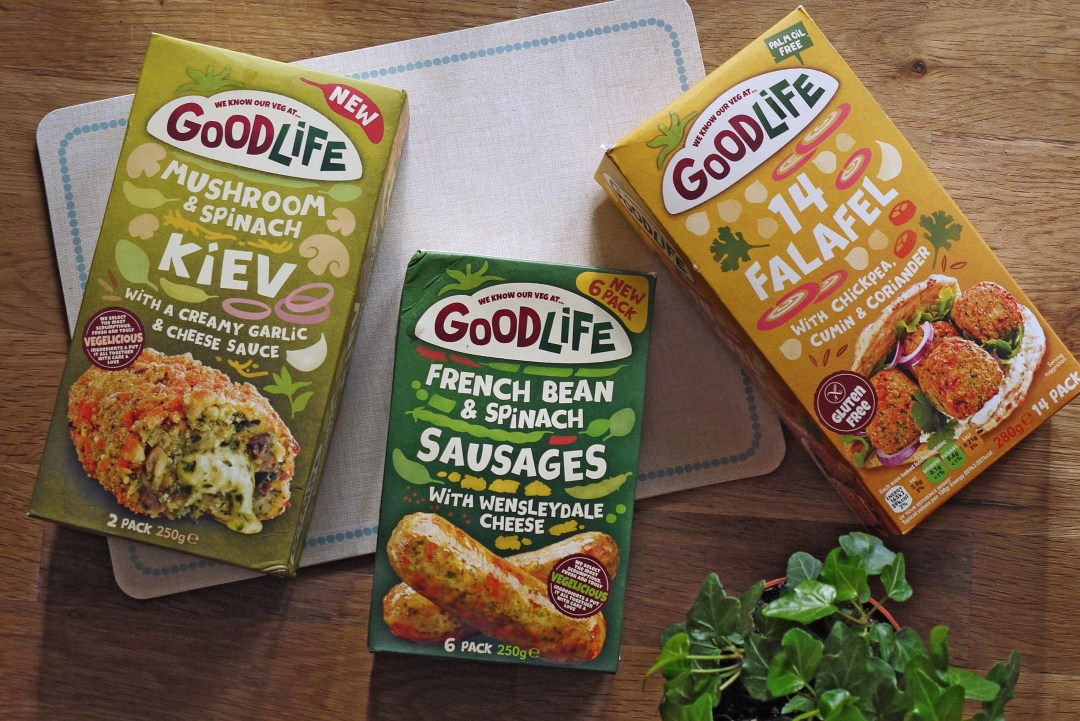 Some of the Goodlife food range