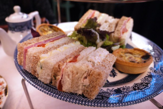 Richmond Tea Rooms sandwiches