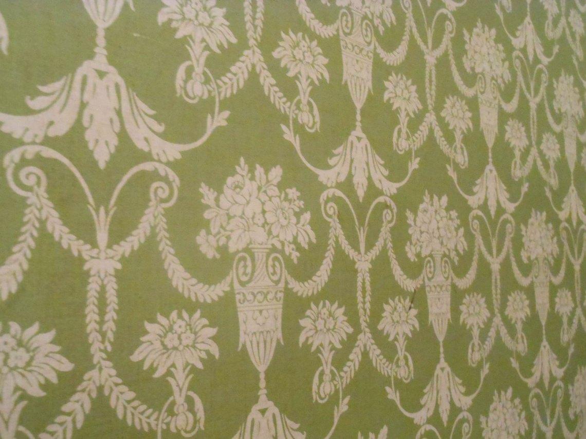 The wallpaper inside Sugar Junction
