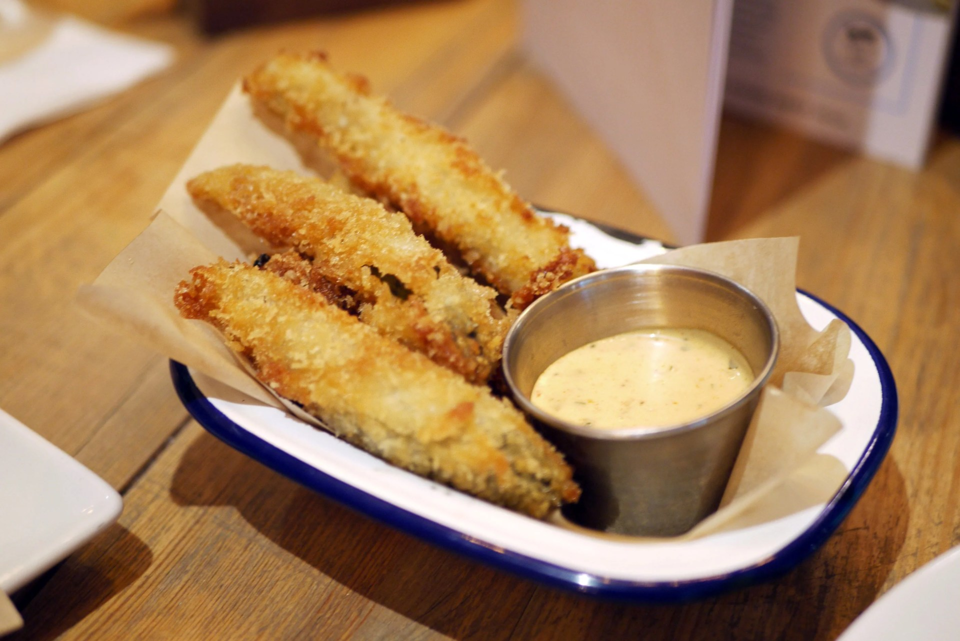 Fried pickles £2.75