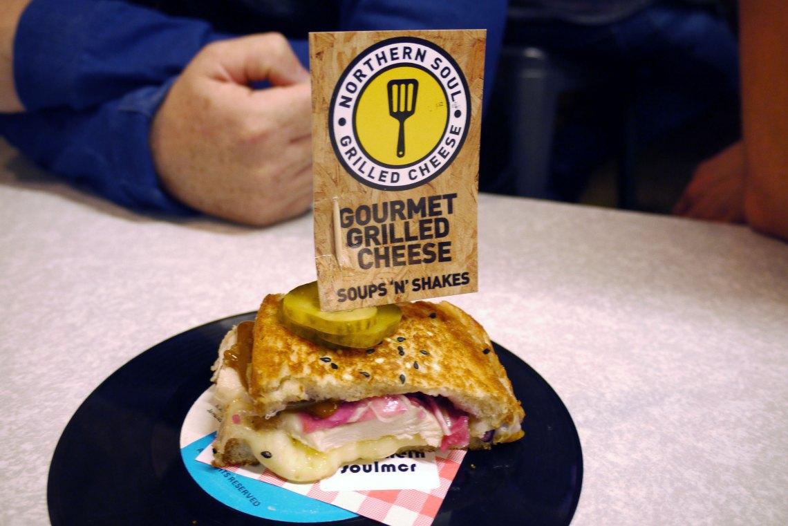Chicken Katsu Grilled Cheese Sandwich