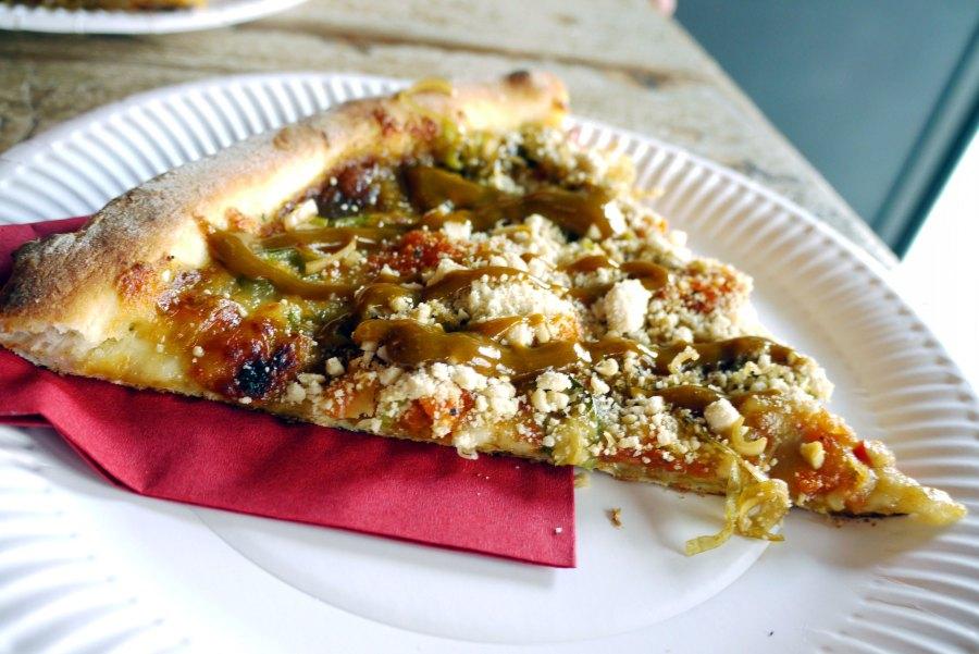 Katsu pizza