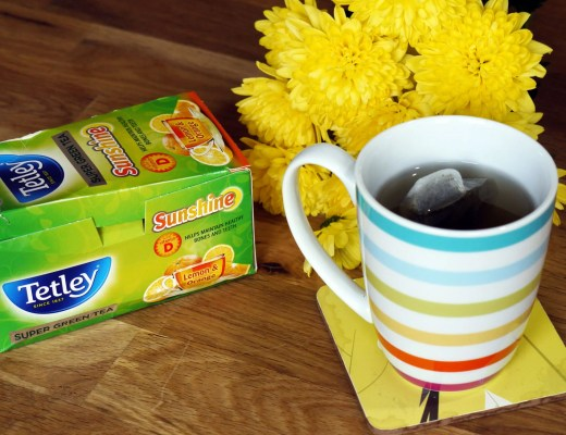 Tetley's Super Green Tea Sunshine