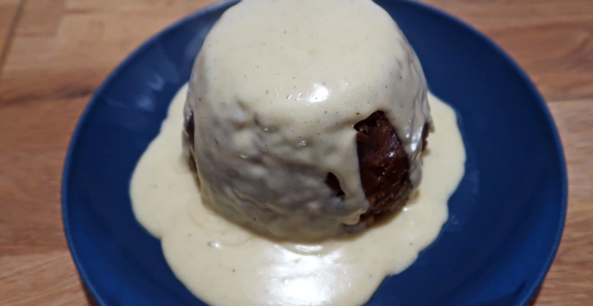 Lord Mayor's pudding with rum sauce