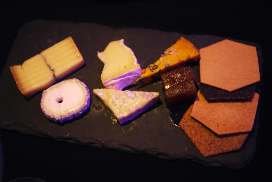 Autumnal cheese platter, £6.50 or £10 for 2 people