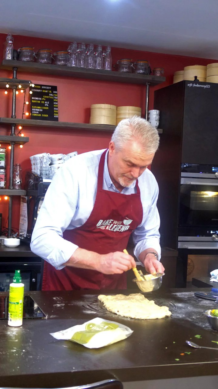 Paul Jagger pick up the garlic butter