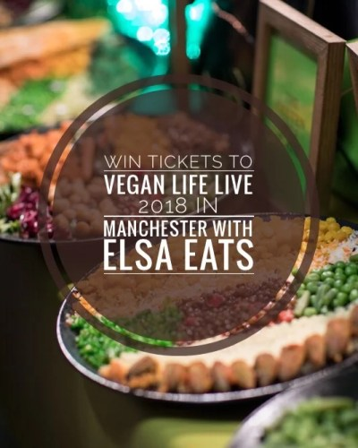 Vegan Life Live competition entry banner