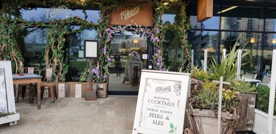 Exterior of the Botanist at Media City
