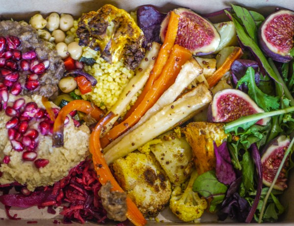 Salad box from Nibble NQ