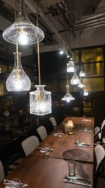 Private dining room at Alston bar