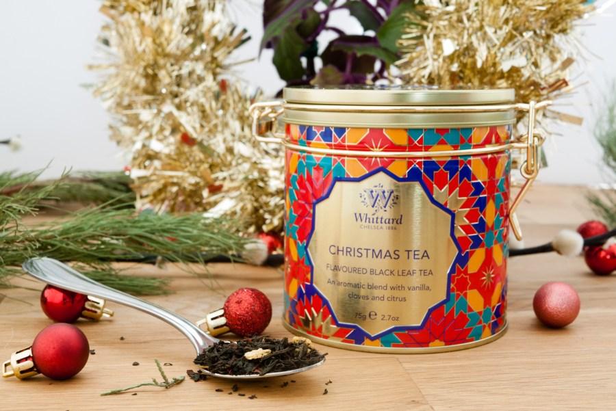Whittard of Chelsea Christmas Tea Clip Top Tin £10