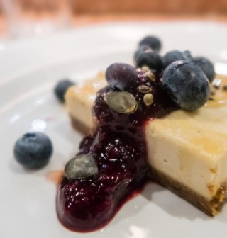 Coconut yoghurt cheesecake (ve) £6