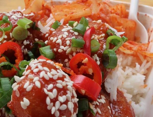 Korean fried chicken from Wok's Cluckin