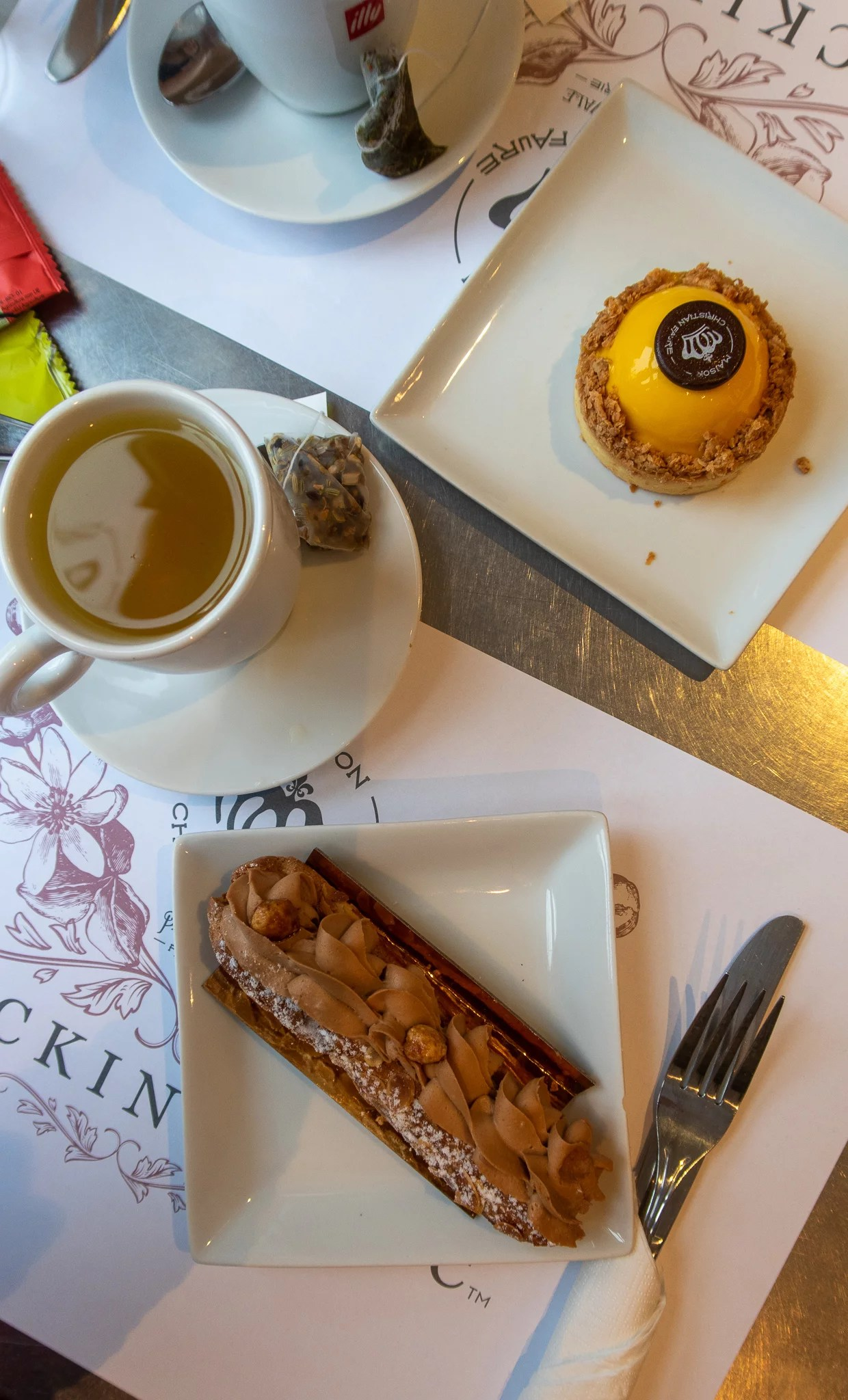 Patisserie from Maison Christian Faure