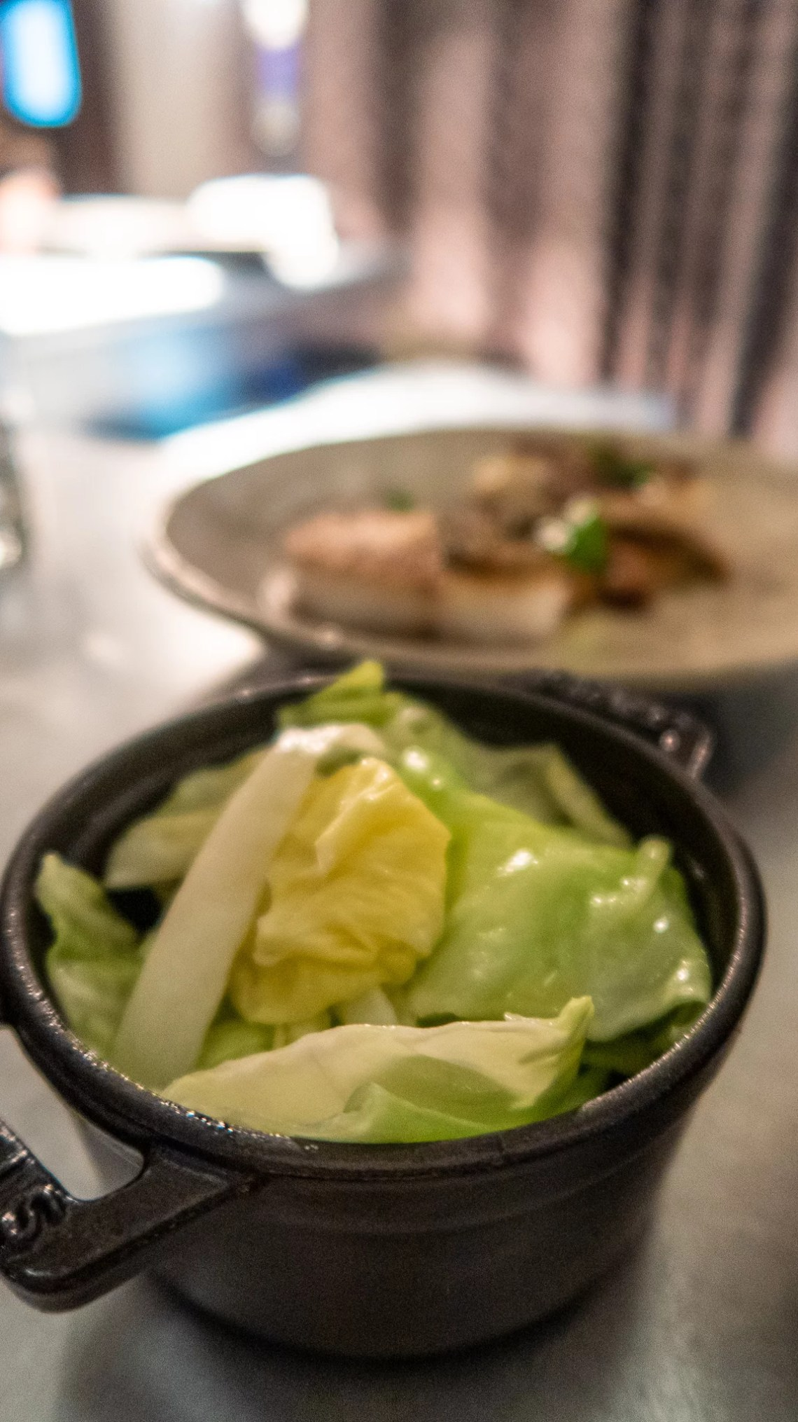 Buttered Hispi Cabbage £4.50