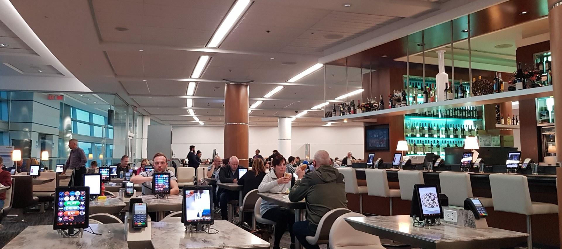 Toronto Pearson departure gate