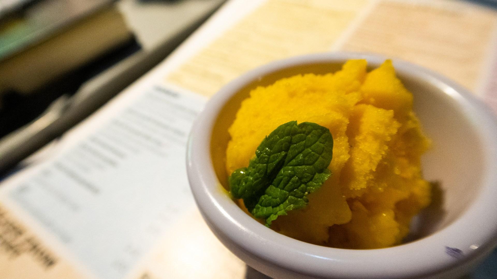 Mango Sorbet £4.75