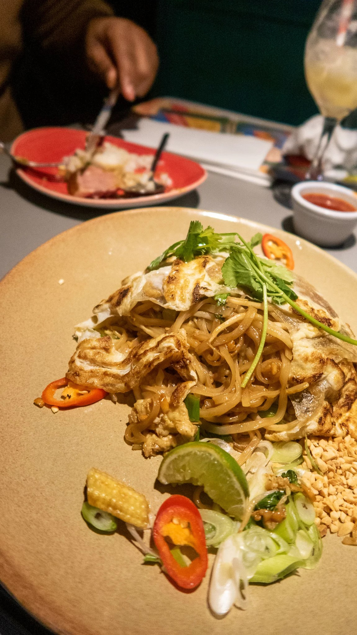 Vegetable Pad Thai £10.95