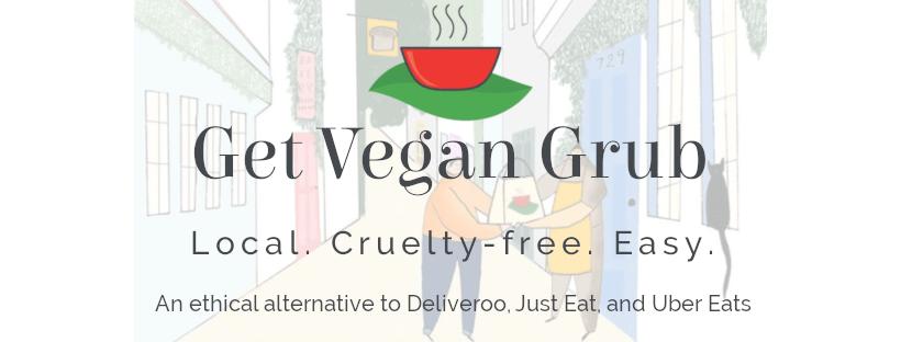 Get Vegan Grub logo and banner