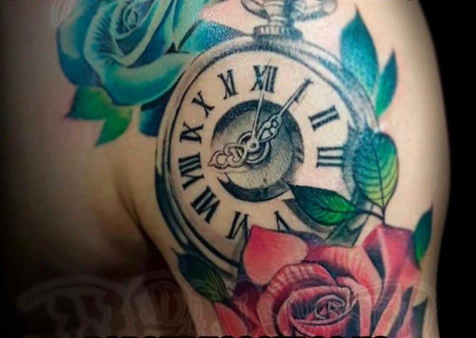 Corrigen Error En El Tatuaje Que Fito Zelaya Se Mandó Hacer En El