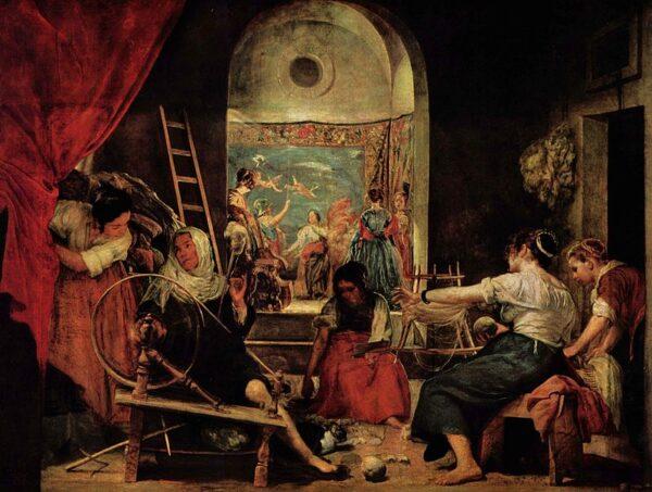 El Mito de la Diosa Atenea y la Princesa Aracne